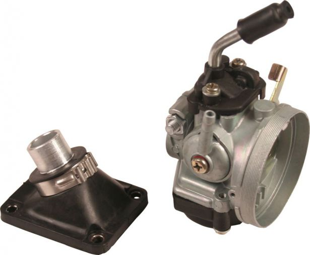 Carburetor - 15mm, Performance, Water Cooled, Intake Set