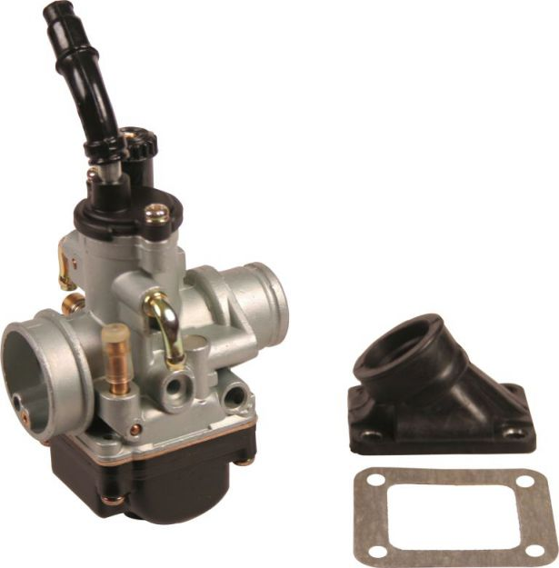 Carburetor - 19mm, Performance, Intake and Gasket Set