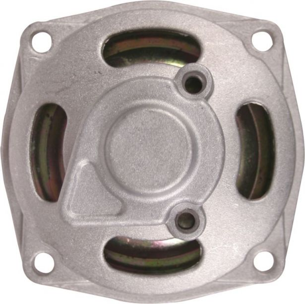 Clutch - Clutch Bell with Chain Cover, M8 & M10, Chrome