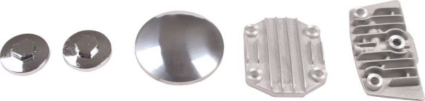 Cylinder Head Cover Set - 50cc to 110cc, 5pc
