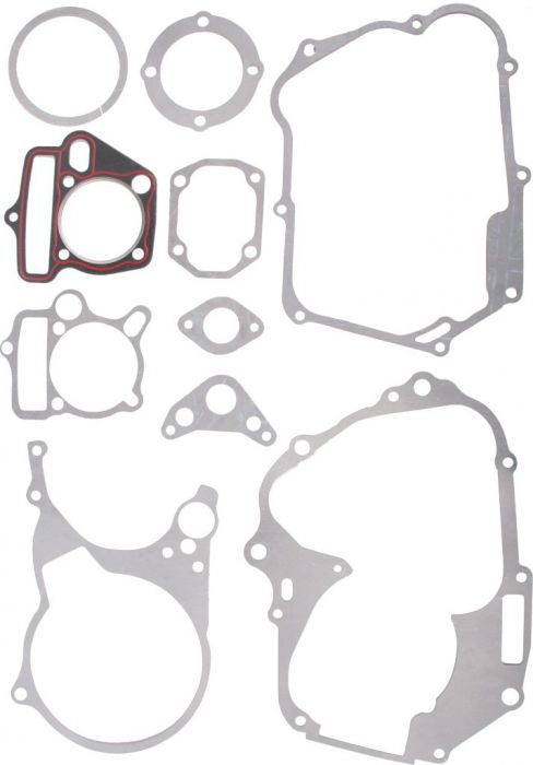 Gasket Set - Head and Bottom End 10pc, 140cc Top and Bottom End