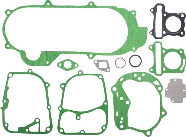 Gasket Set - 11pc, 50cc, GY6 Top and Bottom End