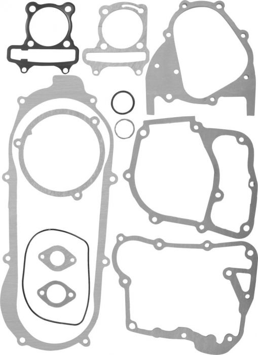 Gasket Set - 11pc, 150cc, GY6 Top and Bottom End
