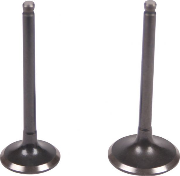 Intake and Exhaust Valve - 125cc