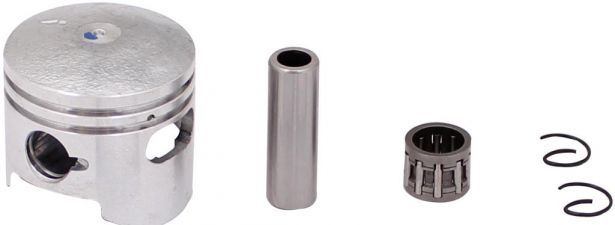Piston and Ring Set - 47cc, 49cc, 44mm, 12 mm, 1 window (7 pcs)
