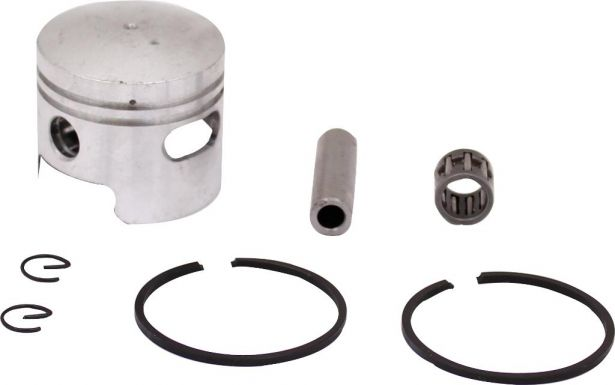 Piston and Ring Set - 47cc, 49cc, 44mm, 10 mm, 1 window (7pcs)