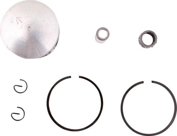 Piston and Ring Set - 47cc, 49cc, 44mm, 10 mm, 1 window (7pcs)