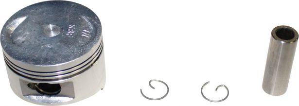 Piston Set - 150cc, 57.4mm, 15mm, GY6 (4pcs)
