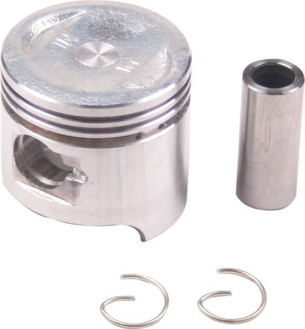 Piston and Ring Set - 50cc, 39mm, 13mm (9pcs)