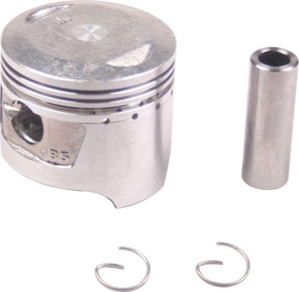 Piston and Ring Set - 70cc, 90cc, 47mm, 13mm (9pcs)