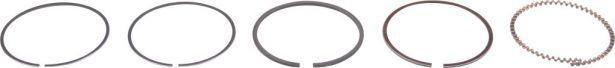 Piston Rings - 110cc to 125cc, 52.4mm (5pcs)