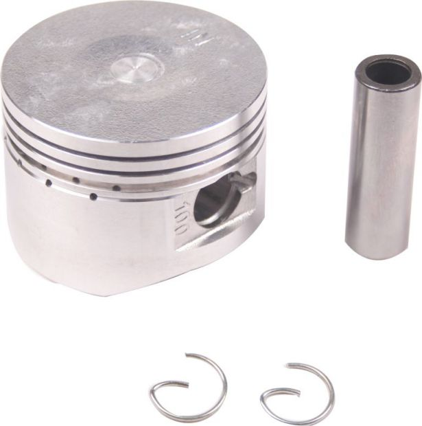 Piston and Ring Set - 110cc, 52.4mm, 13mm (9pcs)