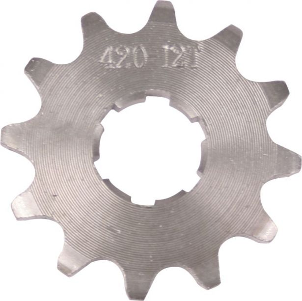 Sprocket - Front, 12 Tooth, 420 Chain, 20mm Hole