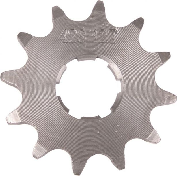 Sprocket - Front, 12 Tooth, 428 Chain, 20mm Hole