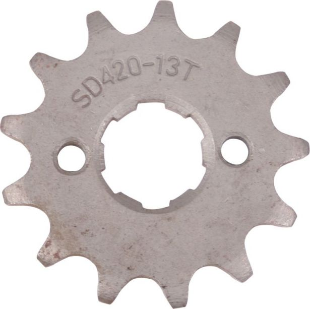 Sprocket - Front, 13 Tooth, 420 Chain, 20mm Hole