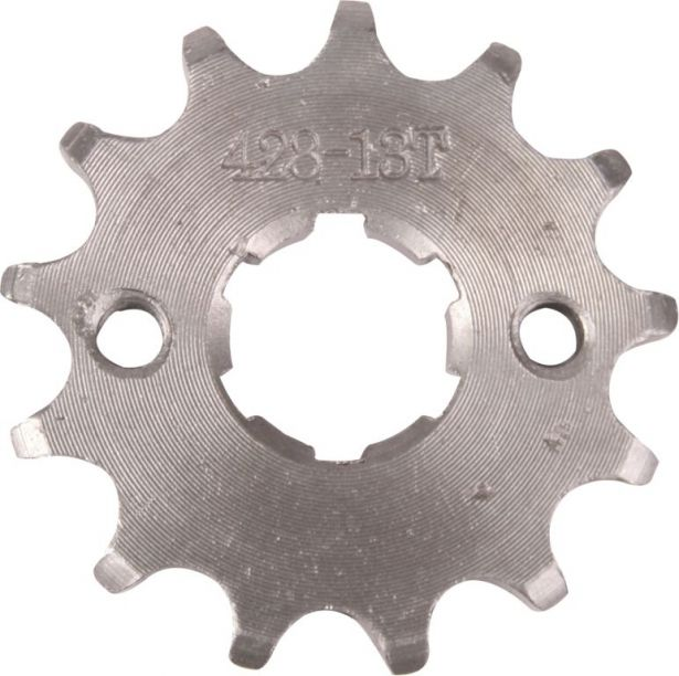 Sprocket - Front, 13 Tooth, 428 Chain, 20mm Hole