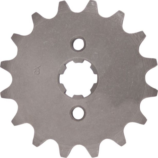 Sprocket - Front, 16 Tooth, 420 Chain, 17mm Hole