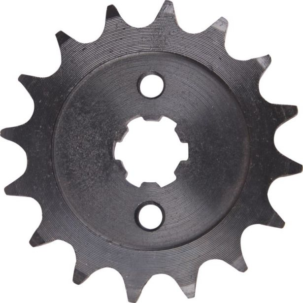 Sprocket - Front, 16 Tooth, 428 Chain, 17mm Hole