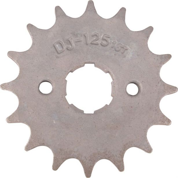 Sprocket - Front, 16 Tooth, 428 Chain, 20mm Hole