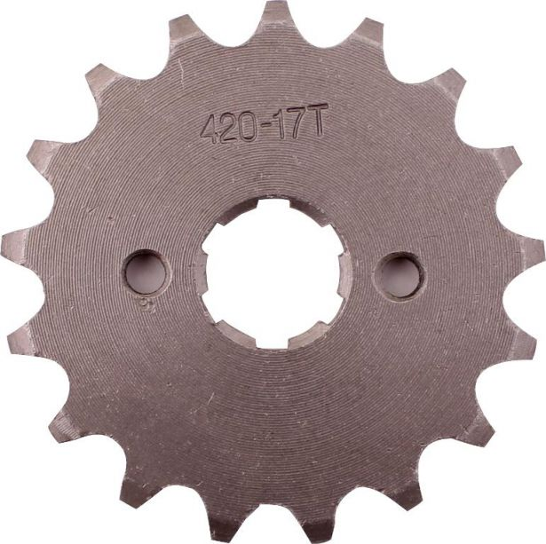 Sprocket - Front, 17 Tooth, 420 Chain, 20mm Hole