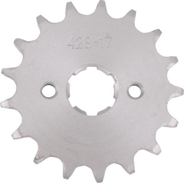 Sprocket - Front, 17 Tooth, 428 Chain, 20mm Hole