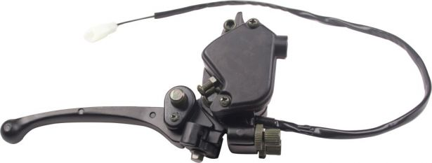 Throttle and Hand Brake Assembly - Right Hand
