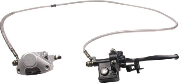 Hand Brake Lever and Caliper Assembly