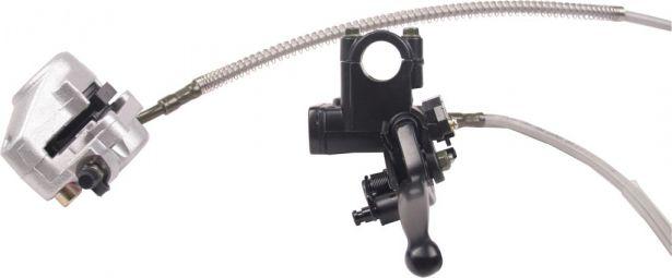 Brake Lever Assembly : Hand brake lever and caliper assembly multi national